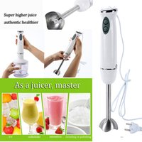 Wholesale 1 Set Multifunctional Household Juicer W Black White Hand Mixer Blender Grinder Food Processor