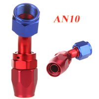 Wholesale AN10 Degree Fuel Swivel Oil Tube Hose End Fitting Adapter AN10 Aluminum