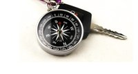 Compasses mini compass - mini compass pocket High accuracy and stability American keychain travel camping