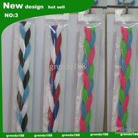 Wholesale new souvenirs Braided Hair Bands Head Under Sweaty Headband Non Slip