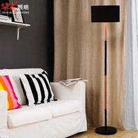 arch lamp - solid wood floor lamps standing lamps fixtures fabrics lampshade Minimalist Style IKEA arch floor lamps white black iron reading light