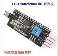 Wholesale IIC I2C Interface LCD1602 LCD Adapter Plate for Arduino Dropshipping