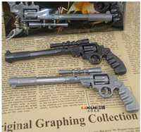 Wholesale Creative Gun Modelling Gel Pen Classic Fire Game Nice Kids Gift Novelty Handgun Shaped Stationery Student Award Child Toy Decoration