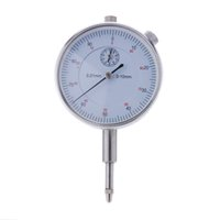 Wholesale New mm Accuracy Measurement Precision Tool Instrument Round Dial Indicator Gauge Vertical Contact