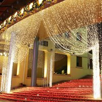 copper wire - 2016 X3meter LEDs Lights Curtain Lights Copper Wire String Fairy Sparkle Lights Wedding Party Concert Decoration Lights Y