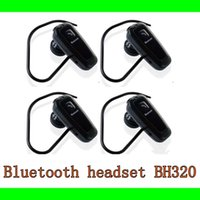 Wholesale Bluetooth headset BH320 For Mobile phone Bluetooth earphone for Cell phone watch phone IphoneDHL freeshipping