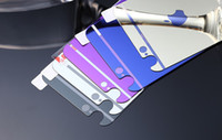 Wholesale 2015 For iPhone s glass film Color Mirror plating tempered glass Screen Protector for iPhone plus inch front and back