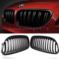 Wholesale New x Matte Black Front Kidney Grille Left Right Side For BMW Series Sedan Door E90 E91 LCI i i order lt no track