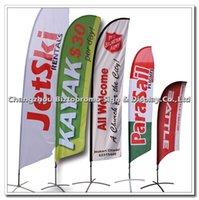 Wholesale 280cm Feather flag beach flag eventag flag