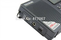 Wholesale Brand TECSUN Radio PL Portable Digital FM Radio PLL FM MW LW SW Shortwave Full Band Receiver Nice Black Color