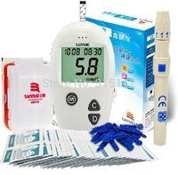 Wholesale Top selling Blood glucose strips10pcs lancets10pcs Sannuo AZ blood glucose meters