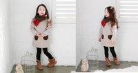 Cheap kids kid clothing Hot sale Children's clothes, 2015 south Korean new winter Children's fair maiden wave pocket lambs wool long-sle