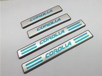 Wholesale 2014 Toyota corolla High quality stainless steel Scuff Plate Door Sill