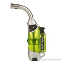 Wholesale Refillable butane gas lighter creme brulee torch jet lighter GF Torch Butane lighters Flame Welding Gun Refillable Gas Butane Lighter