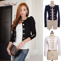 Wholesale Promotion Women Casual Blazer Sexy Black Short Casual Suits Jacket Outerwear b7 CB030480