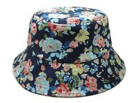 kangol hats - New bucket hat floral Fisherman Hat Hot Script FISHER CAP classic Bucket summer boonie hats designer flower Kangol galaxy camo