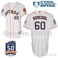 anniversary clocks - 30 Teams New Dallas Keuchel Houston Astros th Anniversary Patch Turn Back The Clock Custom Baseball Jersey