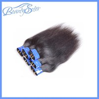 Cheap Brazilian Straight Human Hair Extension 100% Virgin Hair Can Be Bleached And Dyed Silk Straight Style Mix 6 Bundles For One Head Free Cabelo