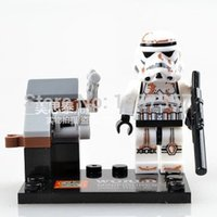 Wholesale Star Wars Storm Trooper Minifigures Building Blocks Sets Model Toys For Children