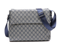 Wholesale New Korea Fashion men Shoulder bag Messenger bag male package Built Zipper pocket Cell phone pocket Mezzanine