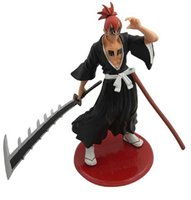 Wholesale BLEACH Japanese Anime Toy Renji Abarai PVC Action Figure Toy Gift Toy For Children Desk Decoration