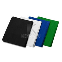 Wholesale New x4M Grey Blue Black White Green Photo Studio Muslin Backdrop Photography Cotton Background High Quality