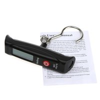 Cheap 50kg * 10g LCD Display Digital Portable Travel Luggage Fishing Weight Hook Hanging Scale