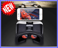Wholesale Updated VR CASE with Bluetooth Wireless remote controller Head Mount D Movie VR Virtual Reality Glasses for Iphone Samsung Smart Phone