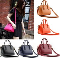Wholesale Fall collection British cowhide leather handbag Boston pillow bags Hand the bill of lading shoulder slope across packages bags for wome
