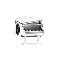 music charm pendant - 2015 New Sterling Silver Piano Charm Music Charms Fits European Pandora Jewelry Bracelets Necklaces Pendants CE551