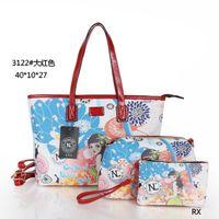Wholesale Nicole lee women shoulder bags designer totes bags new printing PU brand handbag nl female classic fashion bags printed