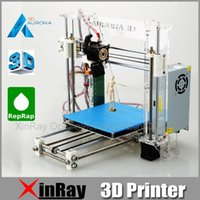 Wholesale Newest Aurora Injection Molding Reprap Prusa i3 D Printer Machine D Print Easy Installation DIY KIT High Quality Acrylic Z605