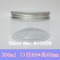 airtight food container - g Thickened PET Jar with Aluminum Lid Airtight Food Storage ml Candy Can Nuts Container