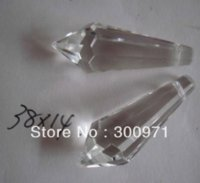 Wholesale Top quality AAA x14mmmm crystal chandelier trimming crystal chandelier parts crystal drop