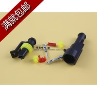 Wholesale Car Motorcycle Pin Waterproof Electrical Wire Cable Connector Plug sets