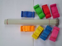 Wholesale 10pcs M Gym Dance Ribbon Rhythmic Art Gymnastic Streamer Twirling Rod Stick Colors