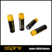 Wholesale Factory price Aspire Battery Protected ICR V Li ion mah mah E Cigarettes Battery