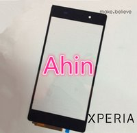 Wholesale Sony Xperia Z2 L50W L50T D6502 D6503 Touch screen white black Replacement Original Ahin LTD