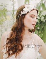 Cheap Hair Flowers hair accessories Best Silk Flower  headpiece in stock