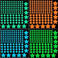 glow in the dark stars - New Adesivo De Parede Decor Home Decoration Glow in the Dark Wall Luminous Stickers for Kids Rooms Decals Sticker Star Decal dandys