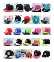 Wholesale Hip Hop Hats Snapback Hats Hip Hop Hats Fashion Womens Mens Letter Printing and Joining Together Snapback Hats Hot Mens Breathable Hats