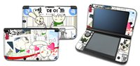 3ds xl - skin stickers for nintendo ds xl housing vinyl PVC