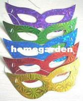 Wholesale 300pcs Masquerade Mask Halloween Masks Vintage Rose Mask party and estival