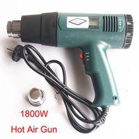 Wholesale 1800W Hot Air Gun Rework Station Soldering Temperature Adjustable Heat Gun Wrap Sticker Film Decal Heater Tool