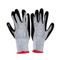Wholesale 1 Pair Working Protective Gloves Cut resistant Anti Abrasion Safety Gloves Cut Resistant order lt no track
