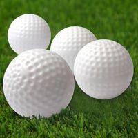golf ball - 10Pcs Outdoor Golf Practice Sports Plastic Training Balls Wholesales