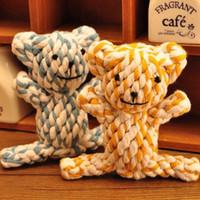 Wholesale Pet toy pet dog toys animal cotton rope toy single