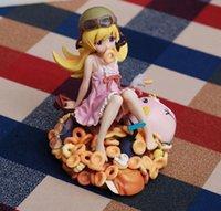 bakemonogatari figures - Hot Sale Monogatari series Bakemonogatari Oshino Shinobu Donut Doughnut Version PVC Figure Collectible Modle Toy