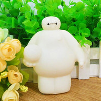 baby sound big - Big Hero Baymax Rubber Dolls Cartoon White Baby Bath Water Toys Press Sounds Beach Swiming Children Gifts Toys Sand Play Water Fun SK586