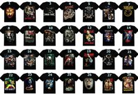 ufc - 3D Shirts Men s Clothing Creative Bone Skull Printed Indian Wolf T Shirts Bob Band Fashion Novelty Shirt Short Sleeves Black Summer DHL